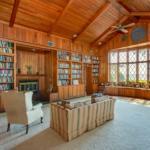library view at Azaleana Manor