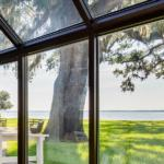 View out sunroom