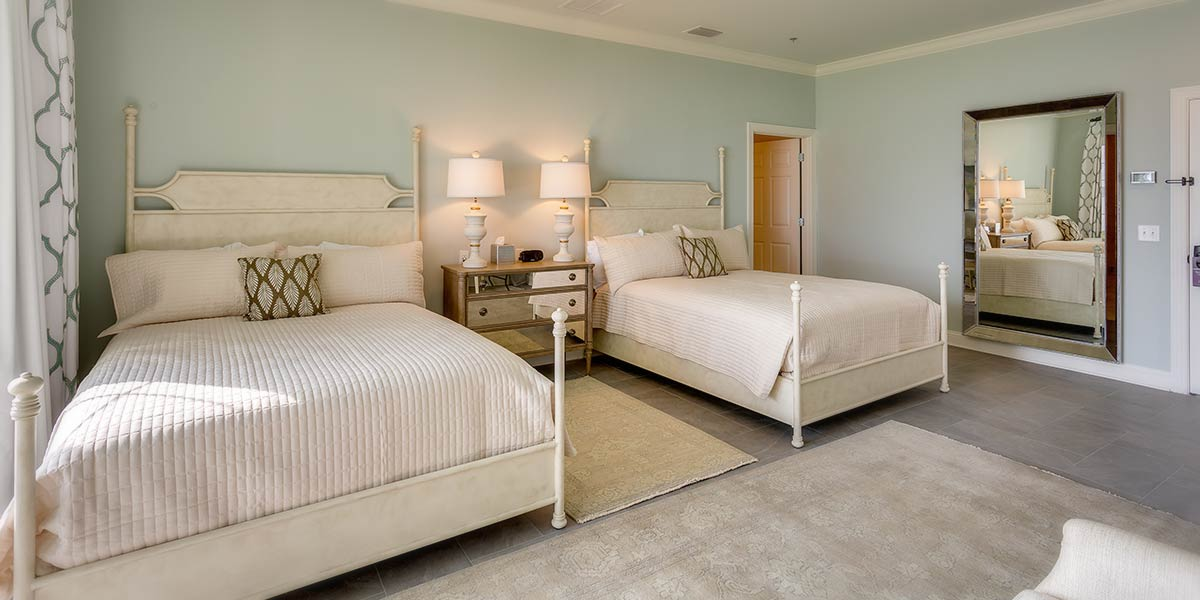 Two queen beds in Suite 5