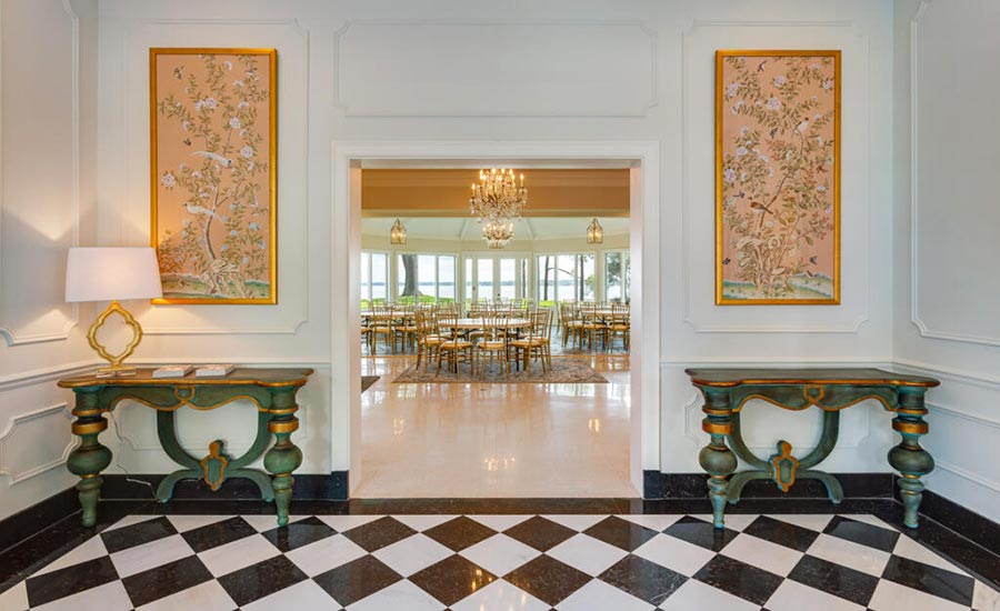 Grand foyer entry to Great Room