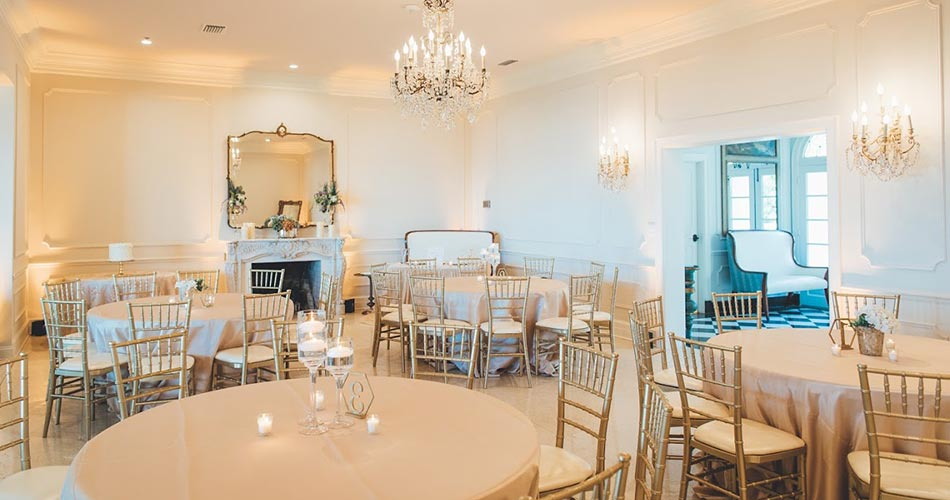 Dining room at our wedding venues in Orange Park FL